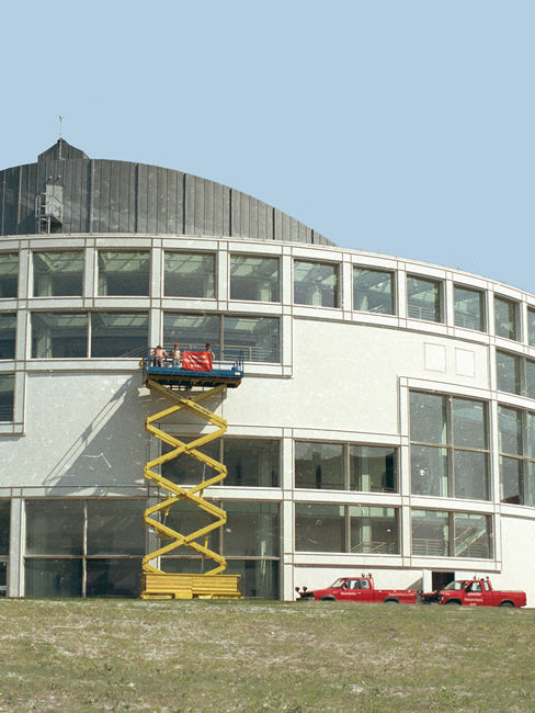 fassdenreinigung Stadthalle Bielefeld